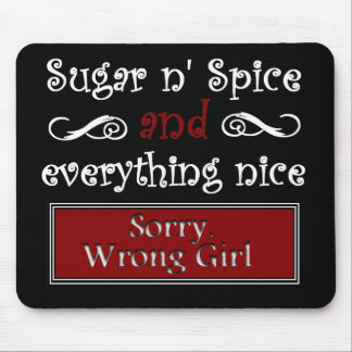 Sugar n Spice Mouse Pad