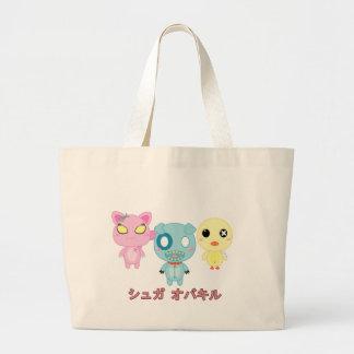 Sugar Overkill Trio 2 Canvas Bags