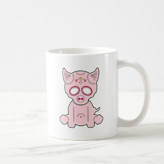 Sugar Piggie Series Basic White Mug