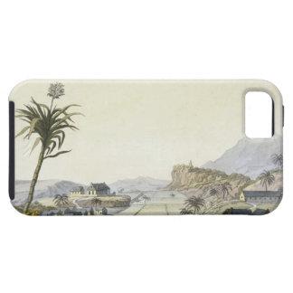 Sugar Plantation, Antilles (colour engraving) iPhone 5 Cases