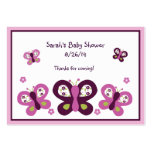 Sugar Plum Butterflies Favour/Tags Pack Of Chubby Business Cards