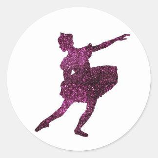 Sugar Plum Fairy Classic Round Sticker