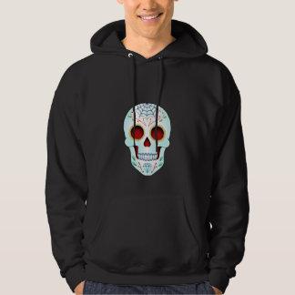 Sugar Skull - Adult Hooded Pullover