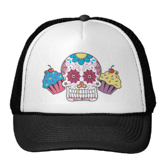 Sugar Skull and Cupcakes Cap