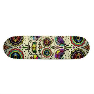 "Sugar Skull Art ""Day of the Dead"" Skateboard Decks"