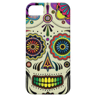 Sugar Skull Aztec Art iPhone5 case