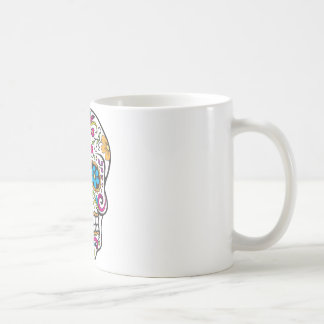 Sugar Skull Basic White Mug