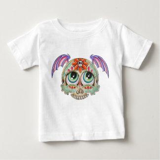 Sugar skull bat baby T-Shirt