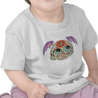 Sugar skull bat tshirt