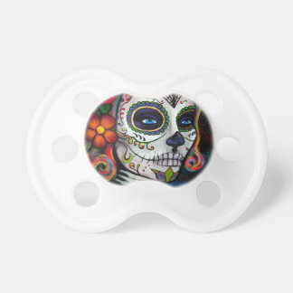 Sugar Skull Candy Baby Pacifiers
