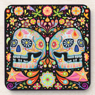 Sugar Skull Coasters - Set of 6
