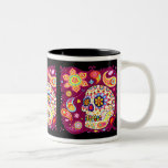 Sugar Skull Colourful Art Mug