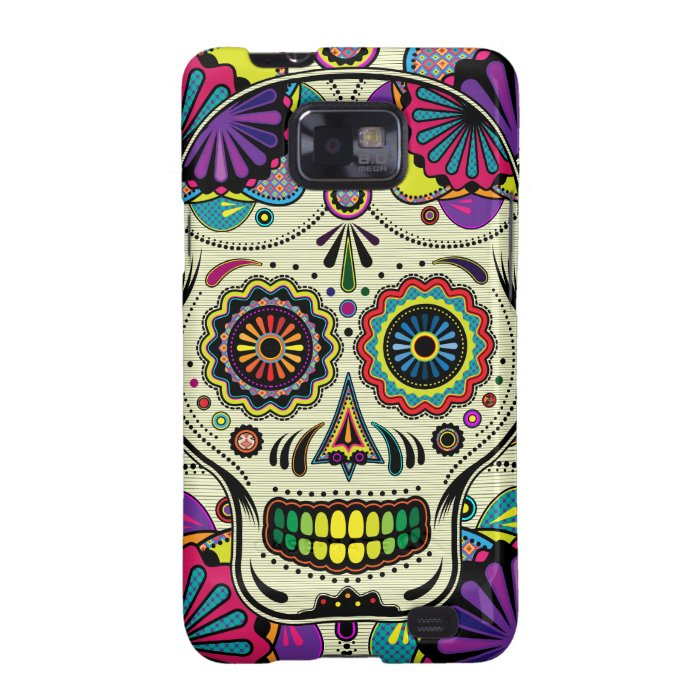 Sugar Skull Colours Samsung Galaxy case