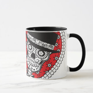 Sugar Skull Couple Mug