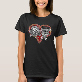 Sugar Skull Couple Shirt