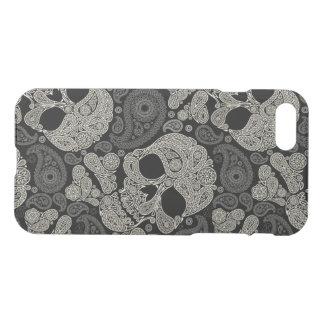 Sugar Skull Crossbones Pattern iPhone 7 Case