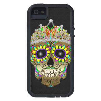 Sugar Skull - Day of the Dead - iPhone Case - SRF Case For The iPhone 5
