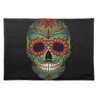 Sugar Skull Day of the Dead Placemat