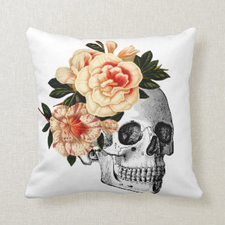 Sugar Skull Dia De Los Muertos Day of the Dead Cushion
