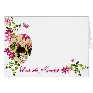 Sugar Skull [Día de Muertos] Greeting Card