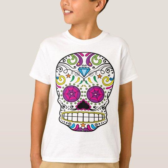 Sugar Skull Dia Des Los Muertos Styled Apparel
