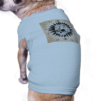 Sugar skull doggie shirt