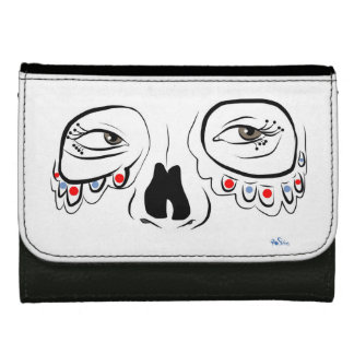 Sugar Skull Eyes Wallet