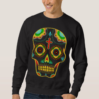 Sugar skull full color sweatshirt