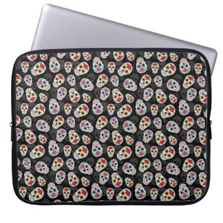 Sugar Skull Fun Print Electronics Sleeve