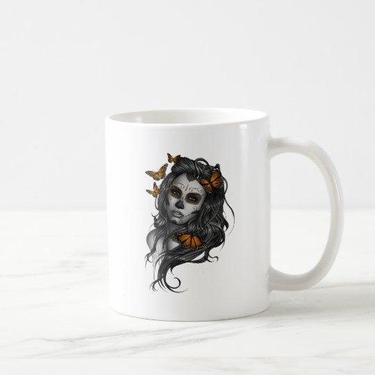 Sugar Skull Girl Coffee Mug