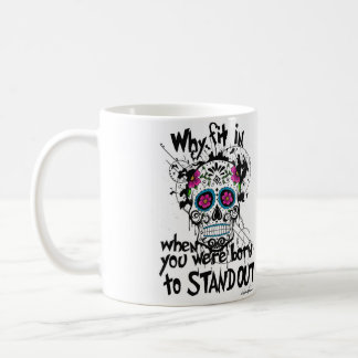 Sugar Skull & Graphics Mug