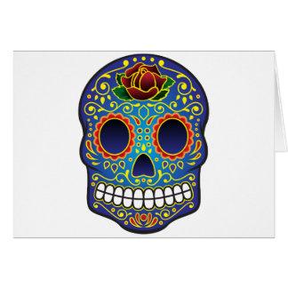 Sugar Skull Greeting Card