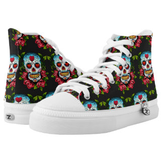 Sugar Skull High Tops