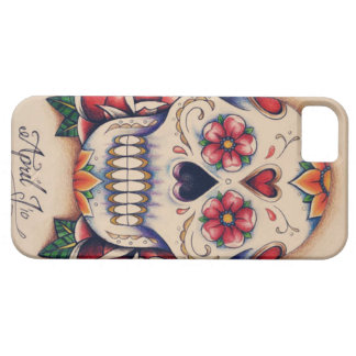 sugar skull iPhone 5 case