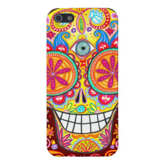 Sugar-Skull iPhone 5 Case