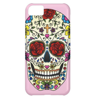 sugar skull iPhone 5C case