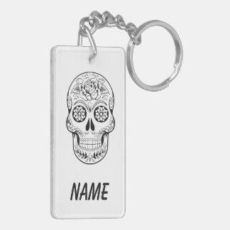 Sugar skull keychain CUSTOMIZED