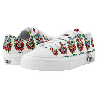Sugar Skull Low Tops