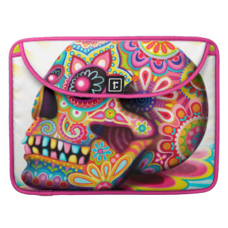 Sugar Skull Macbook Pro Sleeve - Day of the Dead