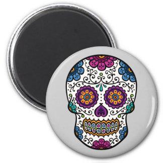 Sugar Skull Refrigerator Magnet