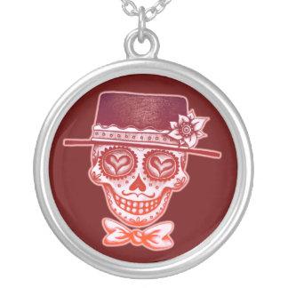 Sugar Skull Male Necklace
