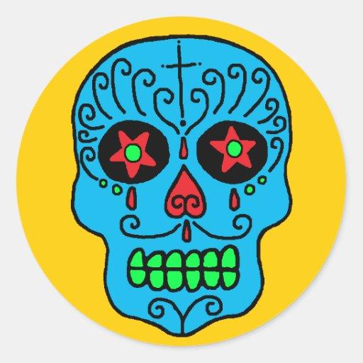 Sugar Skull Man Sticker