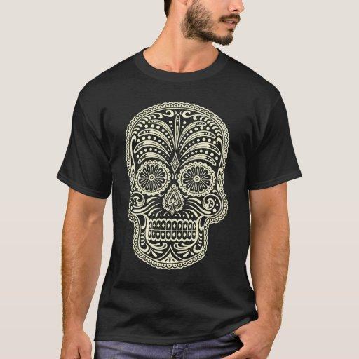 Sugar skull mens t-shirt