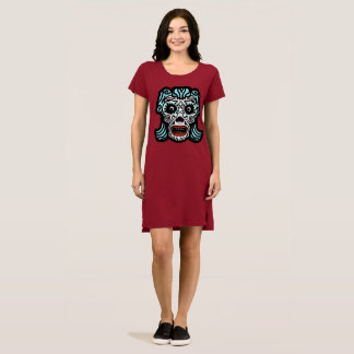 SUGAR SKULL MEXICAN STYLE by Slipperywindow Dress
