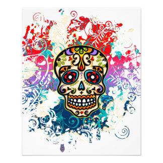 Sugar Skull, Mexico, Dias de los Muertos 11.5 Cm X 14 Cm Flyer