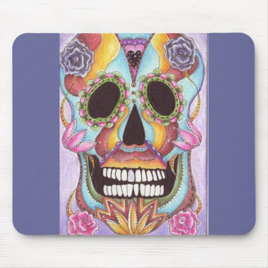 Sugar Skull Mousepad