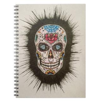 Sugar skull notebooks