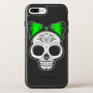 Sugar Skull OtterBox Symmetry iPhone 7 Plus Case