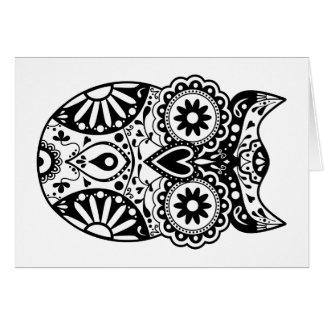 Owl Shape Cards, Photo Card Templates, Invitations & More