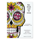 Sugar Skull party 13 Cm X 18 Cm Invitation Card